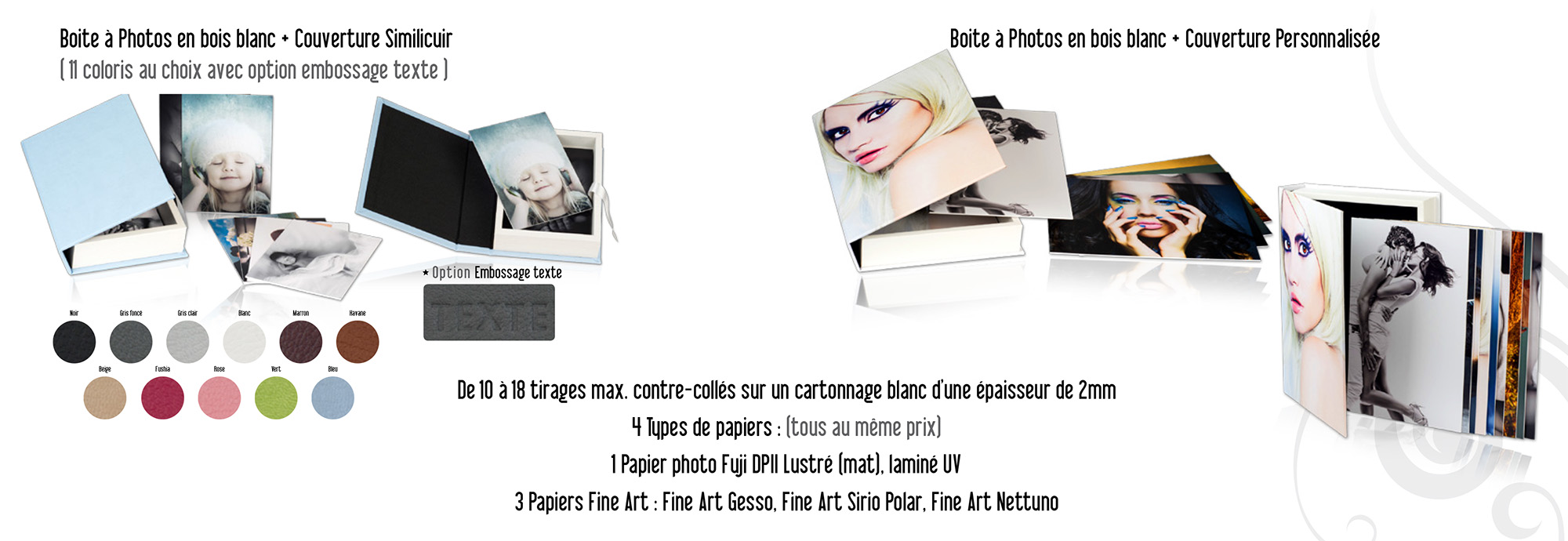 Boîtes à photo - PhotoBox
